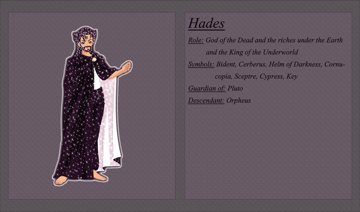 Hades Character Sheet By Osabu San On Deviantart