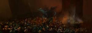 Eragon Battle Under Farthen Dur