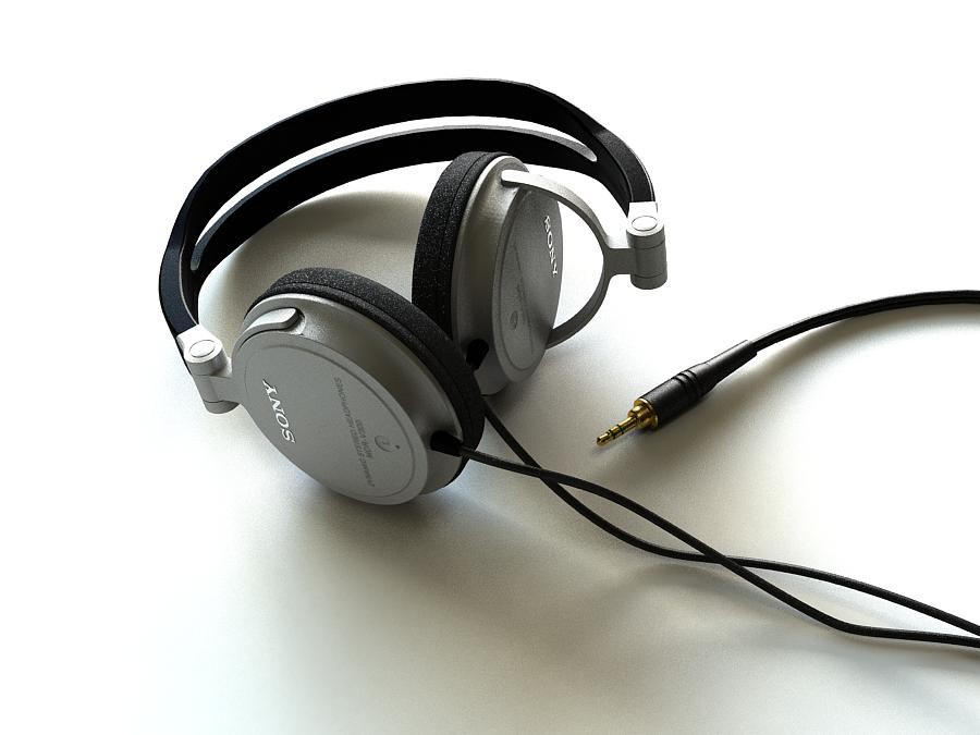 headphones -revisited- by saruman-23