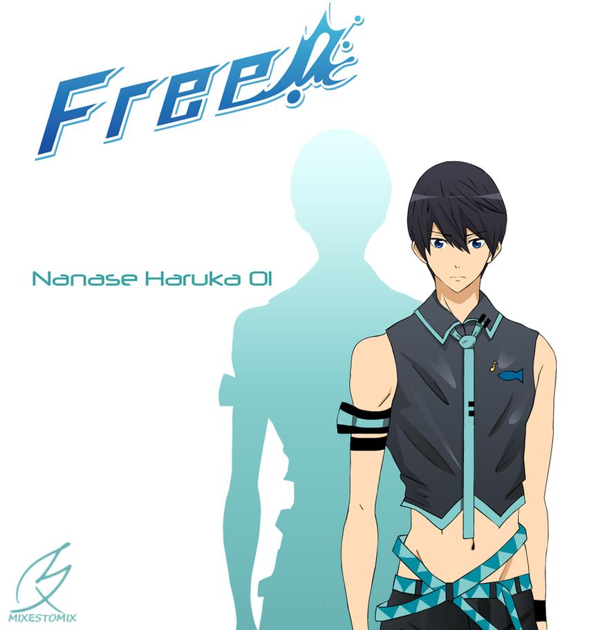 Nanase Haruka x Vocaloid by mixiao