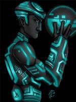 Tron Warrior by greensauceboy