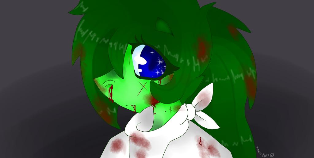 Bruised cutie  by KawiiDinoGirl