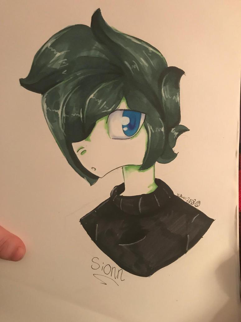 Sionn (not my OC!) by KawiiDinoGirl