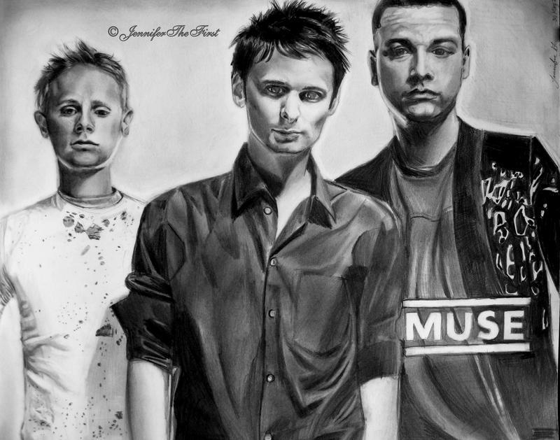 Muse . . . Matt. Dom.  Chris. by JenniferTheFirst