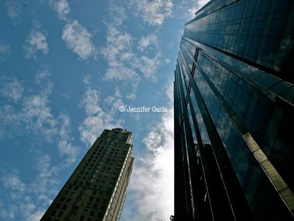 NY Sky by JenniferTheFirst