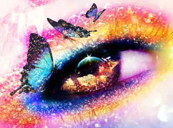 My butterfly dreams. by xJNFR