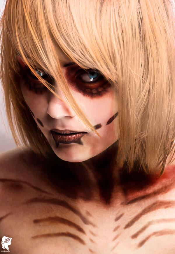 The female titan by xJNFR