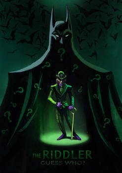 The Riddler/fan art
