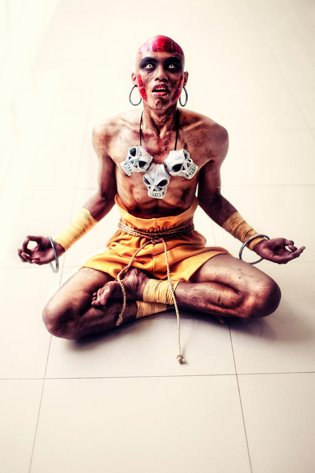 Dhalsim - Street Fighter by big-pao