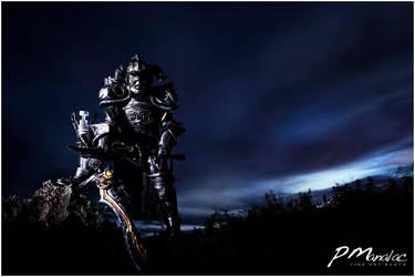 Final Fantasy: Judgemaster Gabranth by big-pao