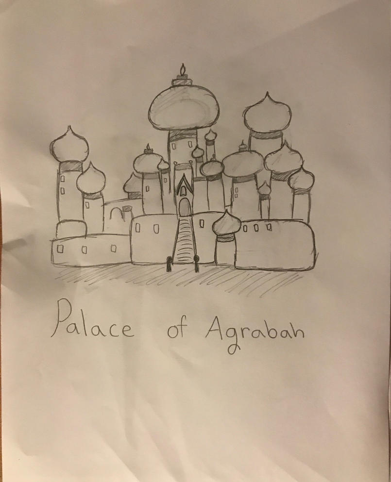 The Palace of Agrabah: Aladdin Fanart by BasilAroma