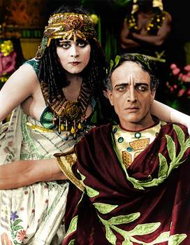 Cleopatra Colorized