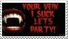 My Vampire stamp by TheArtistDarklady