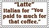 Latte by TheArtistDarklady