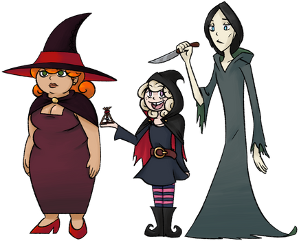 Tilly and the Witches