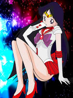 Sailor Mars Pose by Gogeta1089