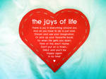 The Joys of Life by GraphiteColours