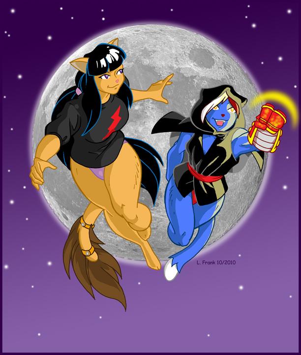 Tabby and Pru Cosplay by Wom-bat