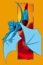 Dragon-flight... by Wom-bat