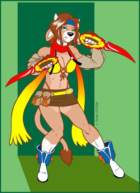 Bethany as Rikku:  2 of 20 by Wom-bat
