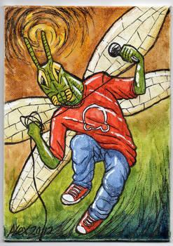 Locust Painting