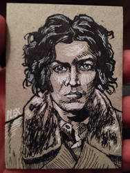 Jack White ACEO Sketch Card by MarshallPlex