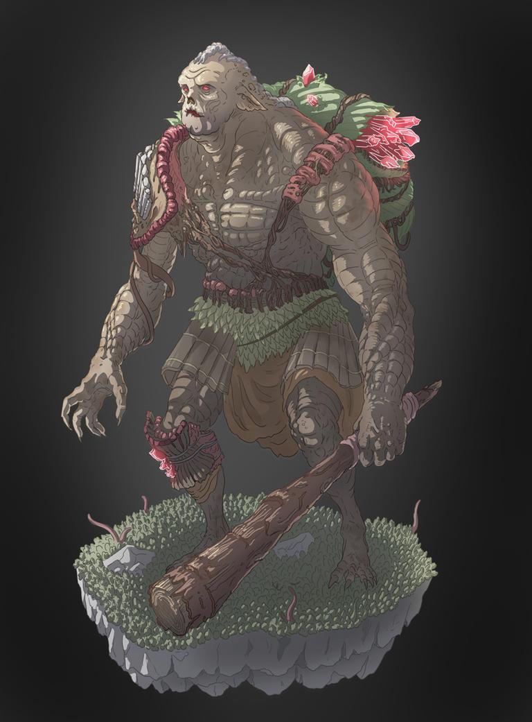 Wood Ogre by Joudrey