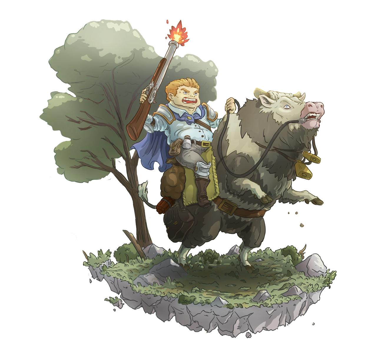 woodland warrior2 by Joudrey