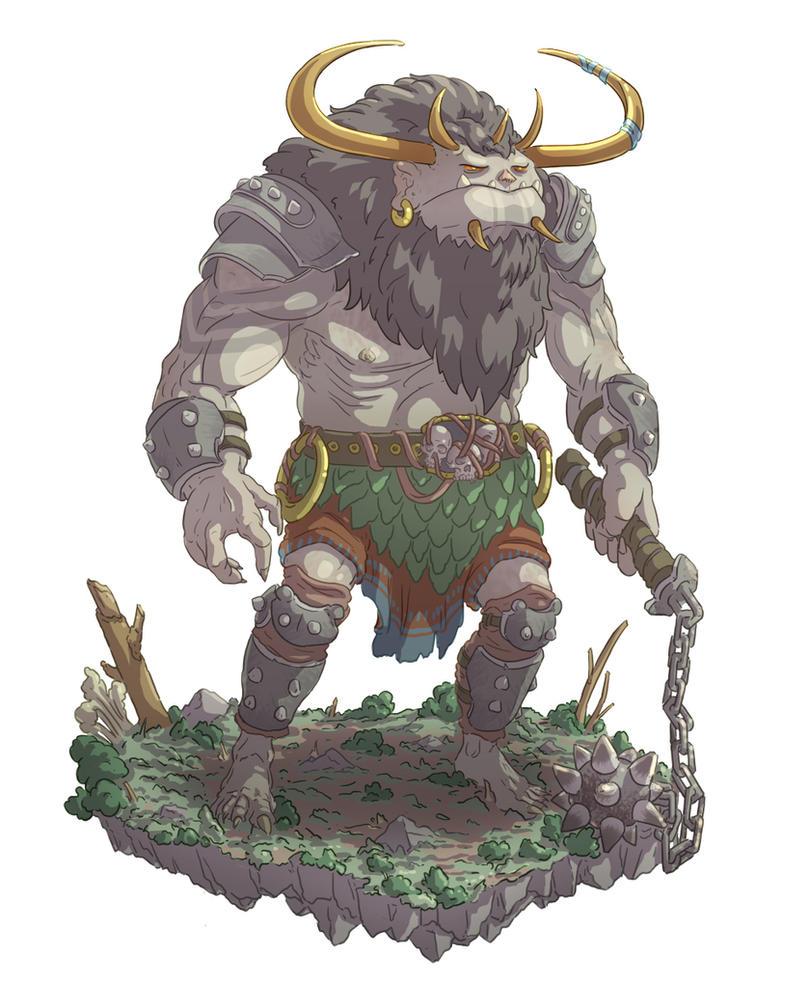 Bull Troll by Joudrey