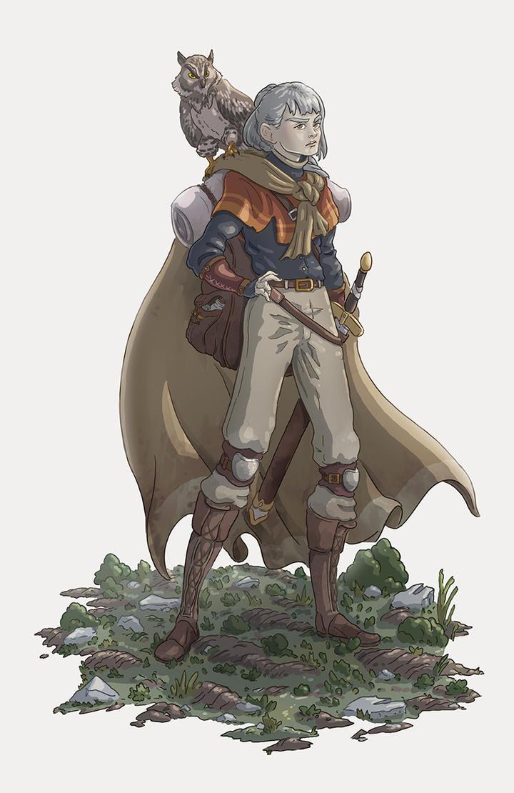 Woodland Traveler 3 by Joudrey