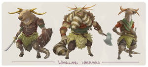 Woodland Character Concepts