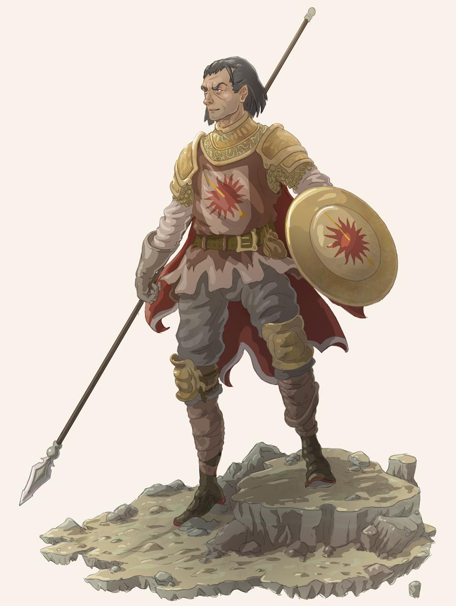 Oberyn Martell by Joudrey