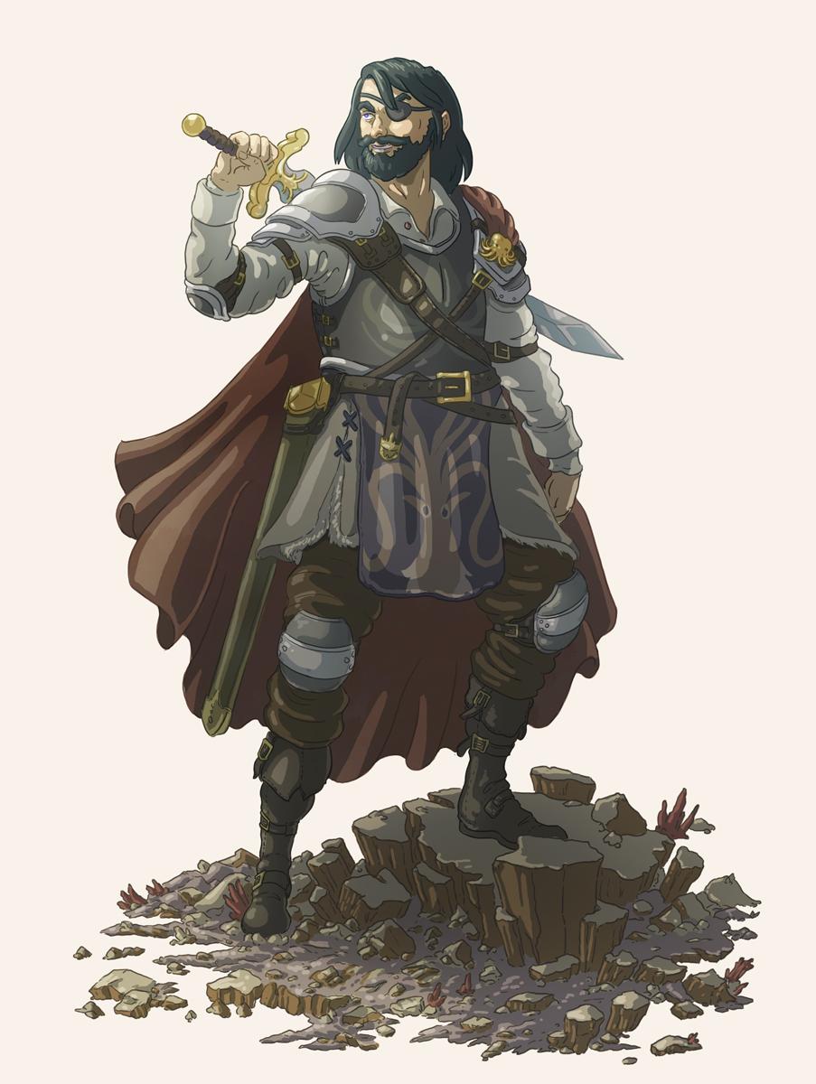 Euron Greyjoy by Joudrey