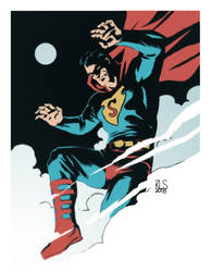 Superman by ronsalas