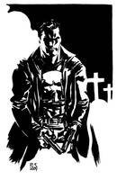 NYCC Punisher sketch by ronsalas