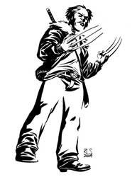 Wolverine Sketch by ronsalas