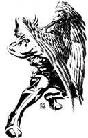 Hawkman by ronsalas