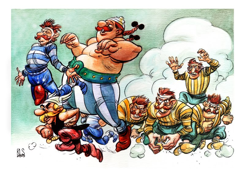 Twart - Asterix by ronsalas