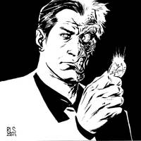 Two-Face - 6x6 by ronsalas