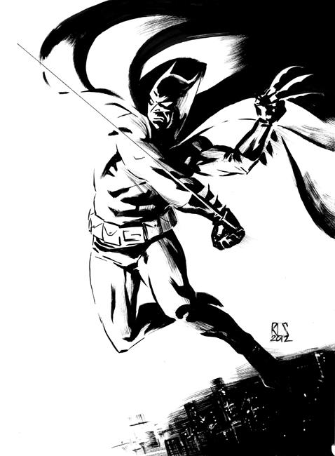Batman Swing by ronsalas