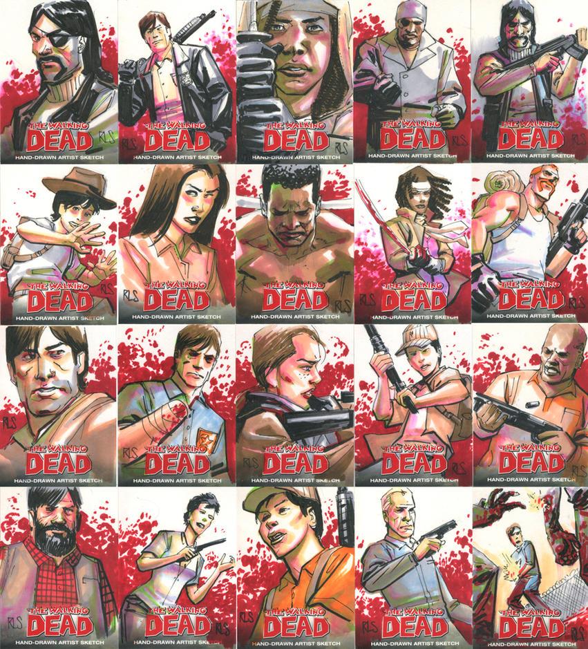 The Walking Dead by ronsalas