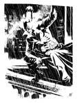 Damian Wayne, Batman by ronsalas