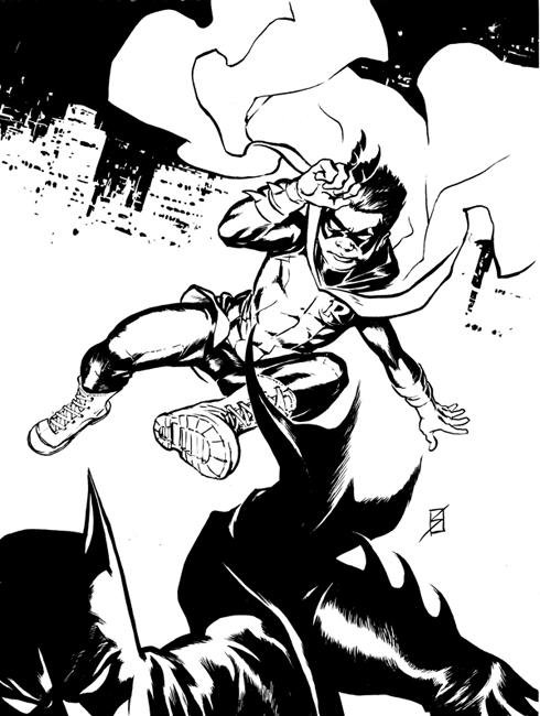 Damian Wayne by ronsalas