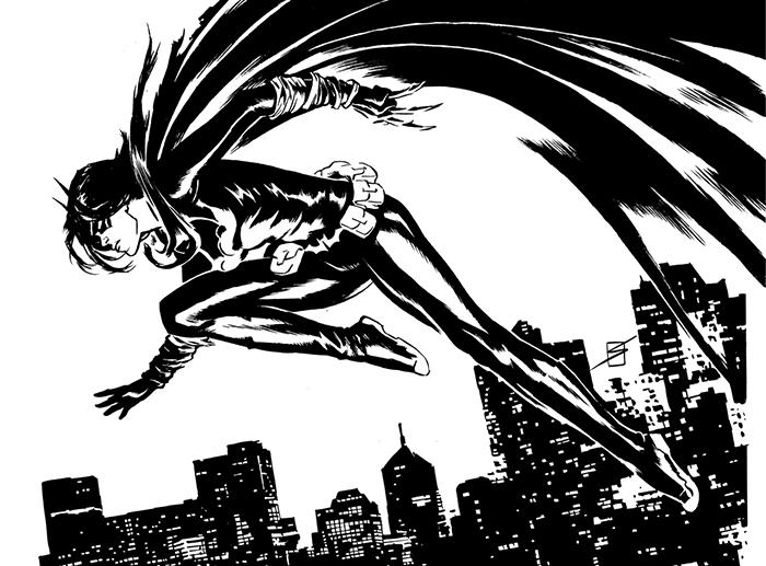 Black Bat by ronsalas