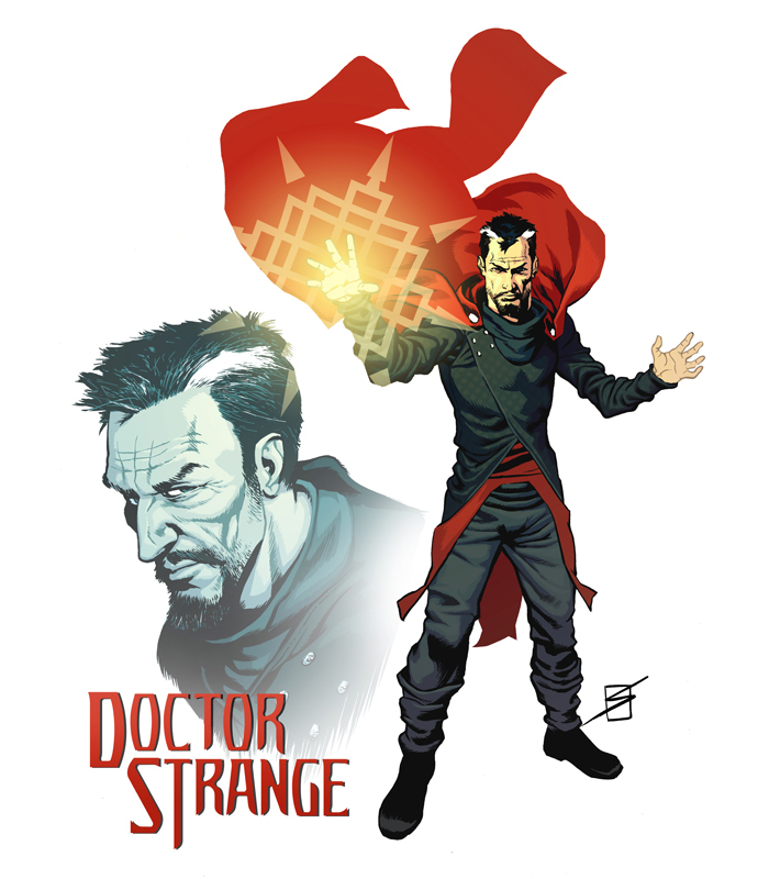Doctor Strange redesign by ronsalas