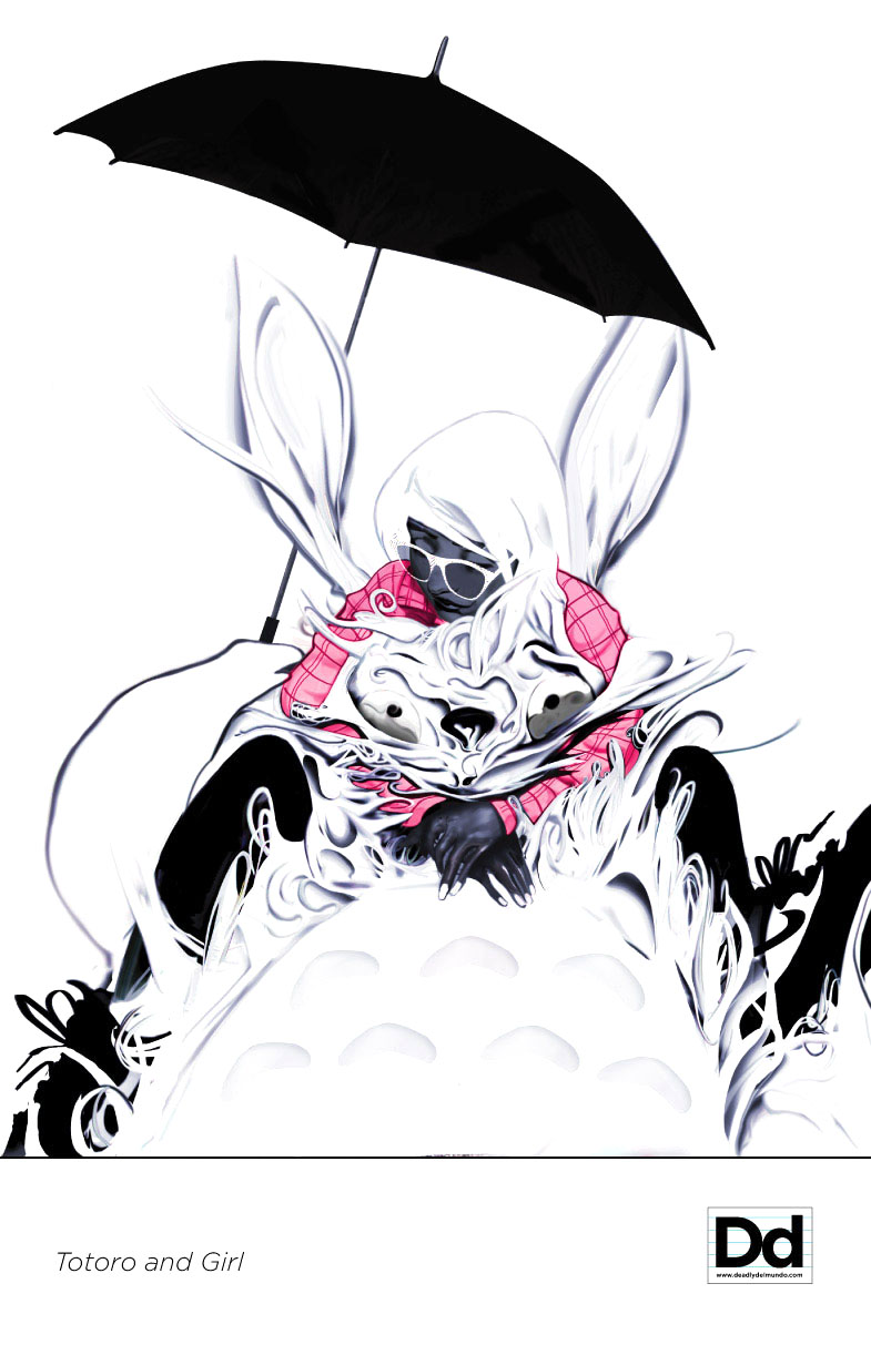 Totoro Gasspp Choke Hold by deadlymike