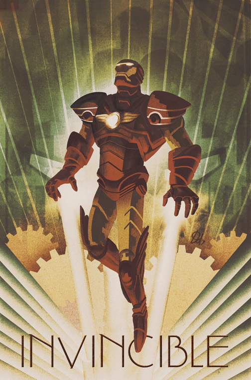 IronMan by Design Deco Works by deadlymike