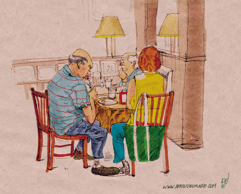 Jack Astors Sketches by deadlymike