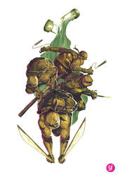 Teenage Mutant Ninja Turtles by deadlymike