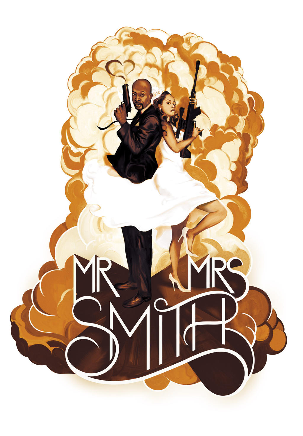 Mr and Mrs Smith Wedding by deadlymike on DeviantArt